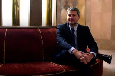 Matias Lammens, a cargo de Turismo y Deportes