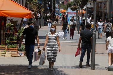 La peatonal de la ciudad de Tucumán