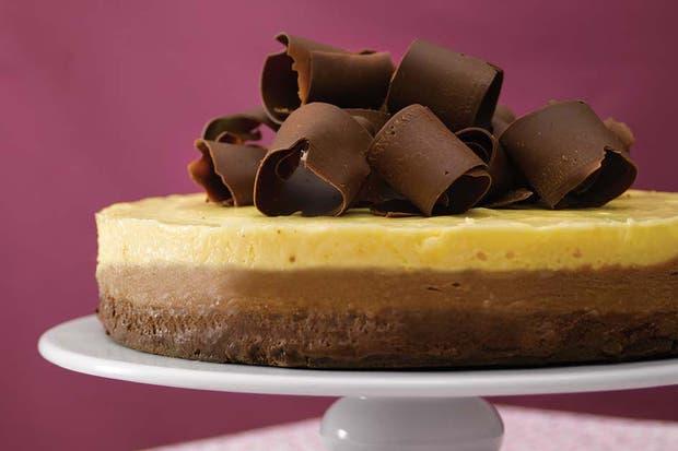 como hacer una torta de mousse de chocolate