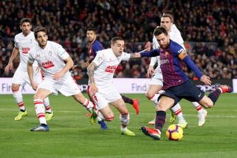 Messi hace escala en los 400 goles, camino a una cima cada vez más alta en Barcelona