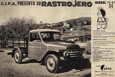 Publicidad del Rastrojero Diesel 1964