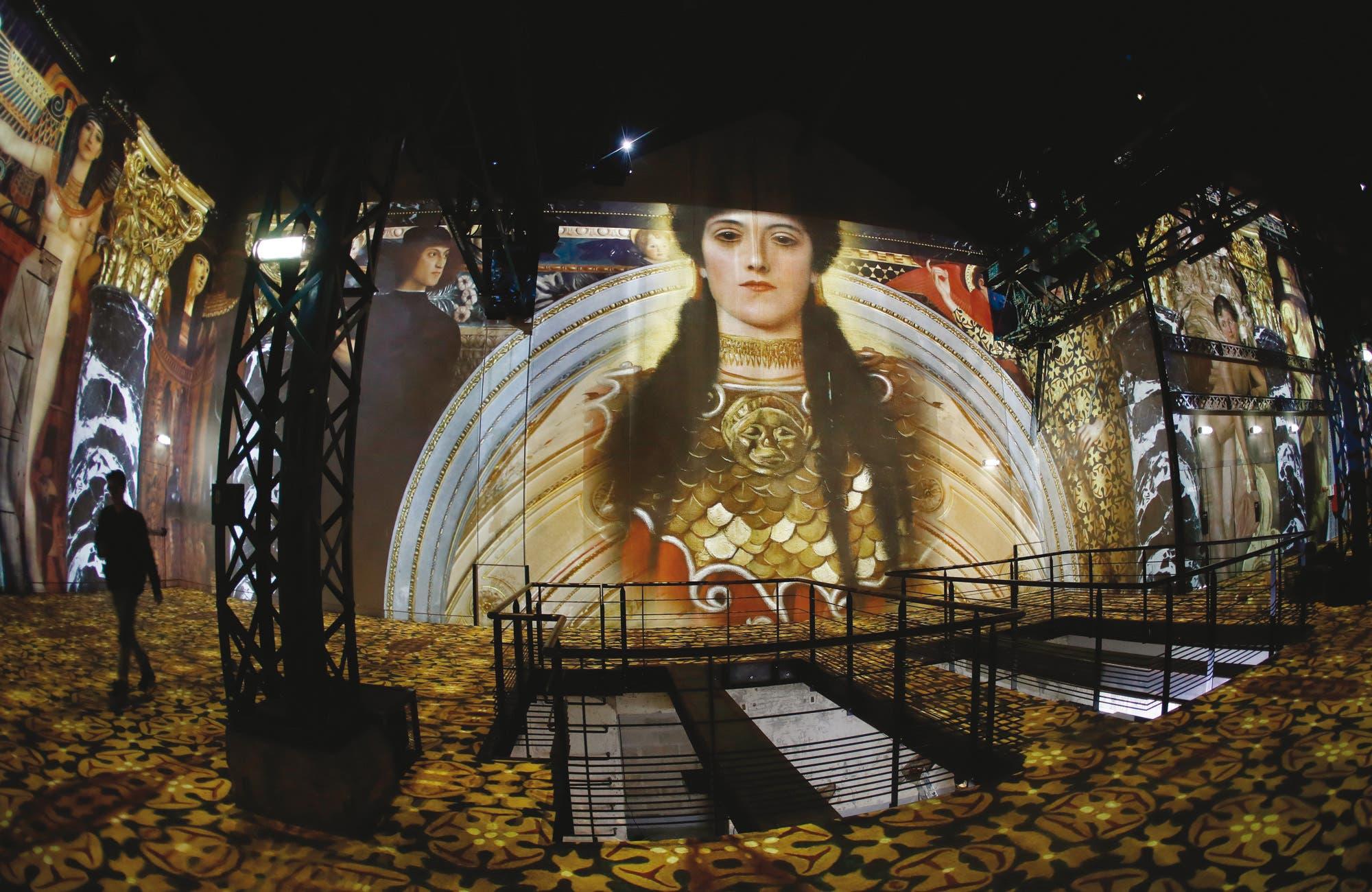 Resultado de imagen de Gustav Klimt y una muestra de arte que es un hito tecnológico