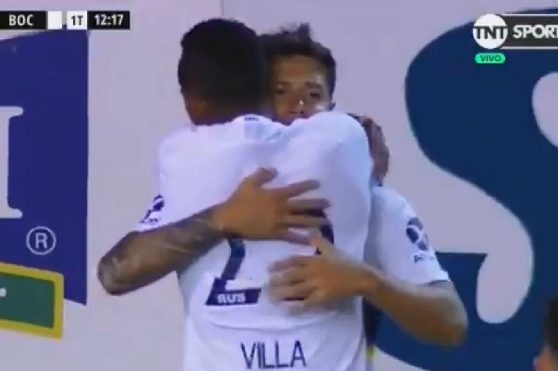 Aldosivi-Boca: el xeneize se puso rápido en ventaja con un gol de Zárate
