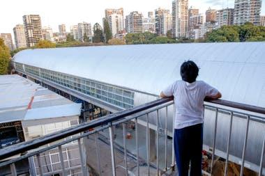 La nueva estacin Belgrano C tapa la vista
