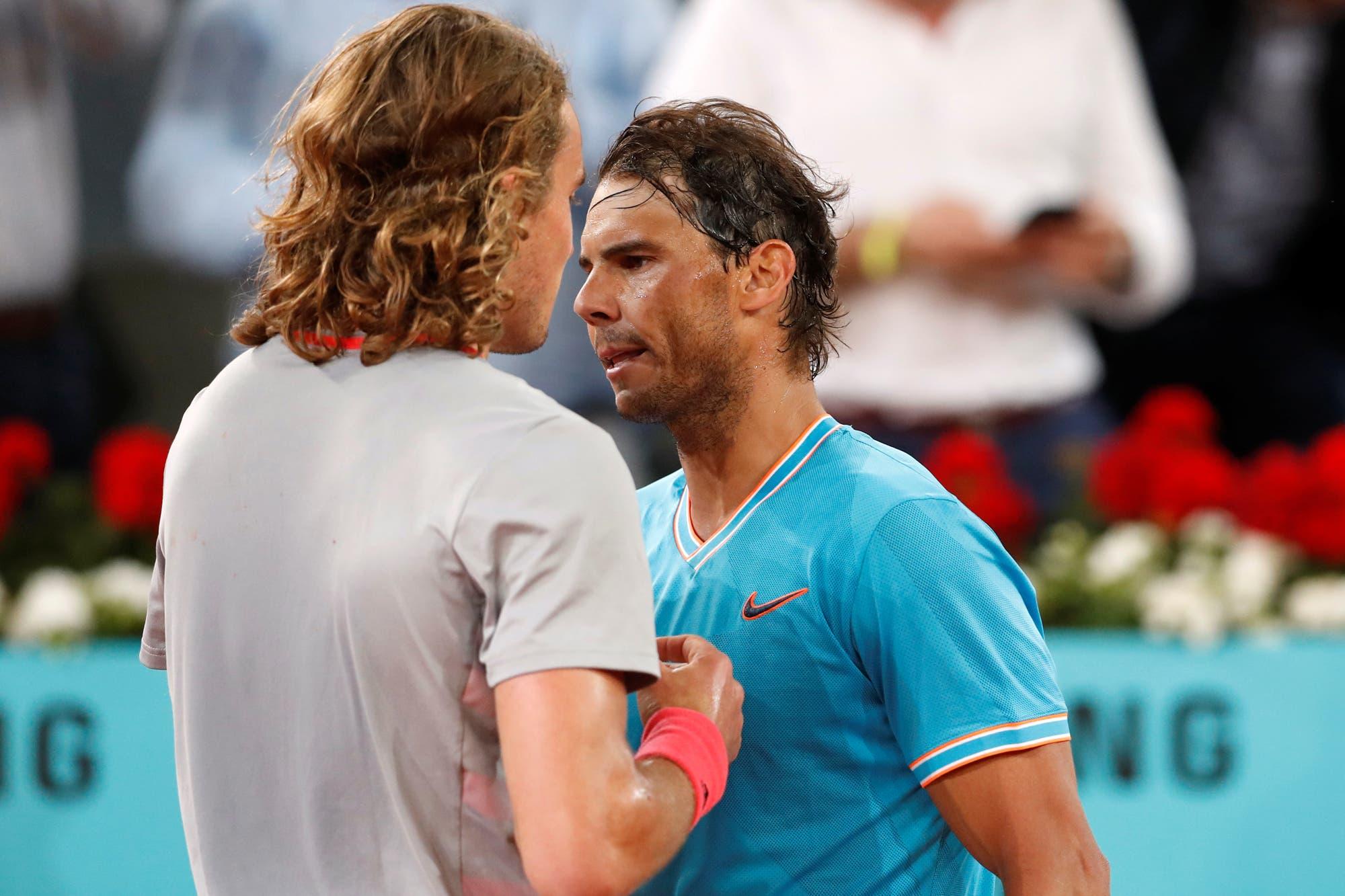 Tsitsipas lo hizo: derrumbó a Nadal y se cita en la final de Madrid con Djokovic