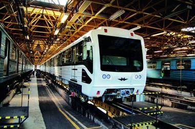 Modernización de coches del metro de Moscú en Metrowagonmash