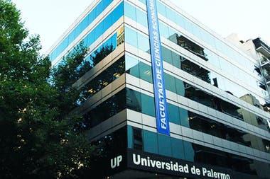 La sede de la Universidad de Palermo