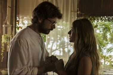 El Profesor (Álvaro Morte) y la detective Raquel Murillo (Itziar Ituño), convertida ahora en Lisboa