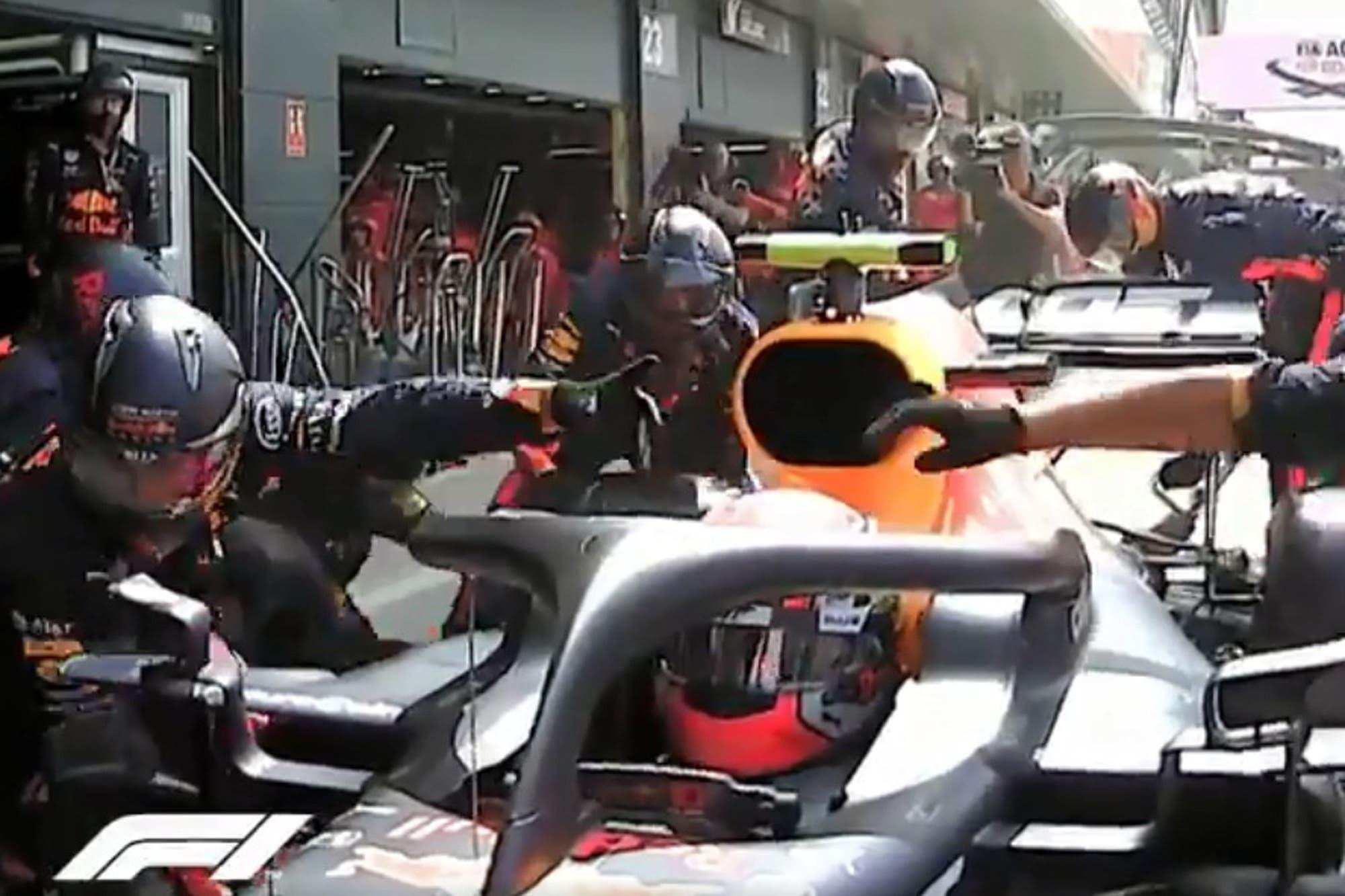 Fórmula 1: el increíble nuevo récord en boxes para cambiar cuatro ruedas