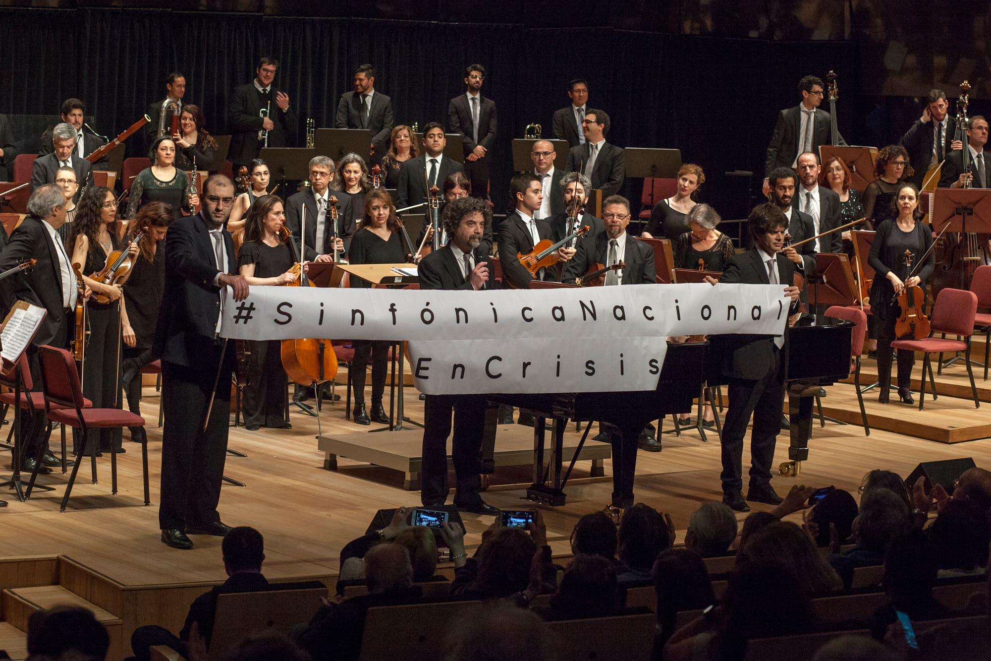La Sinfónica Nacional continúa con sus reclamos al titular de Cultura