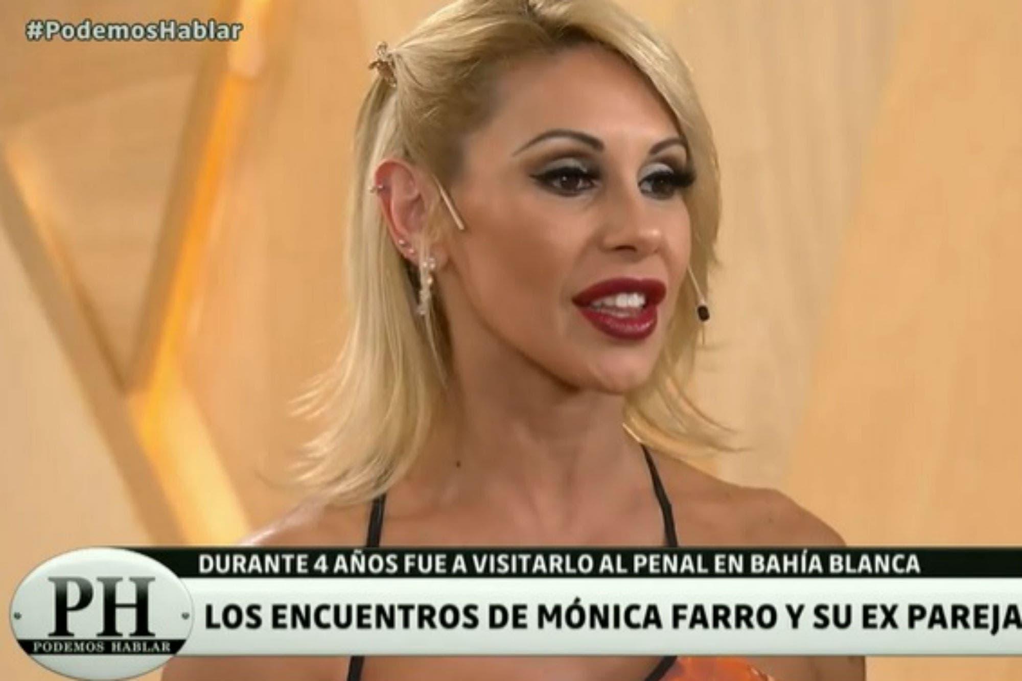 Mónica Farro habló de cómo eran los encuentros íntimos en la cárcel con su expareja