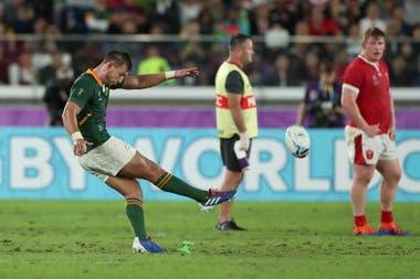 Resultado de imagen para imagenes del partido Gales 16 - sudafrica 19 en Japon 2019