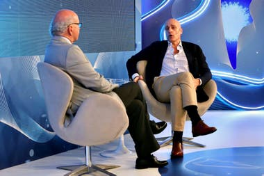 Pablo Sirvén entrevistó a Carlos Pagni en el encuentro La Nueva Argentina, organizado por LA NACION