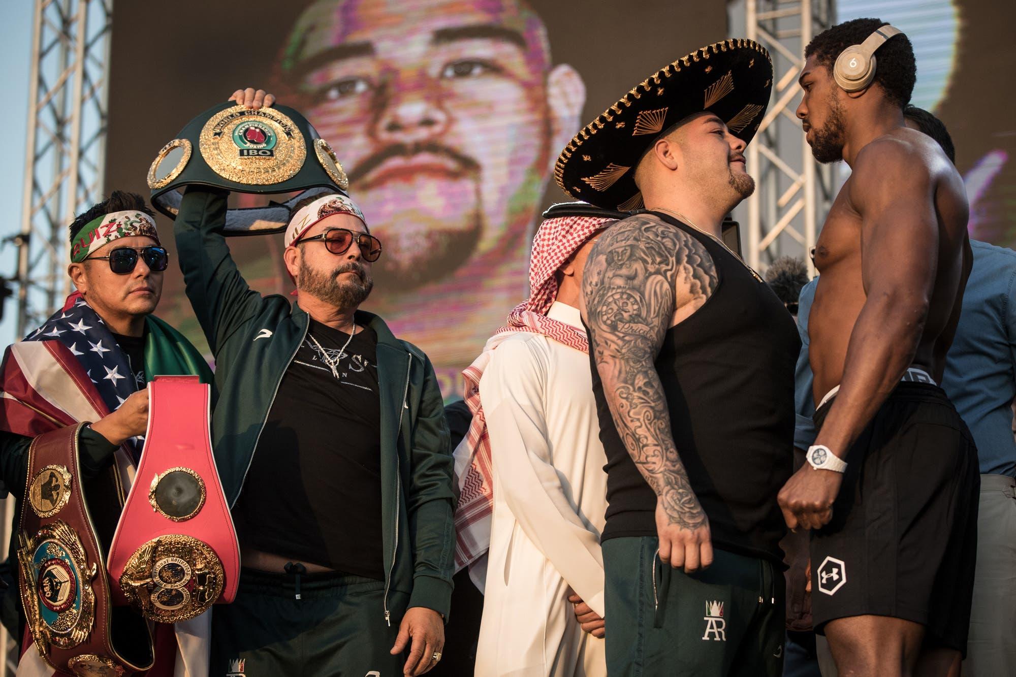 Andy Ruiz-Anthony Joshua: la polémica por los 21 kilos de diferencia en la revancha por el título mundial