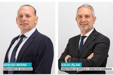 Los dos hombres tuvieron experiencia en las carteras nacionales de sus respectivas áreas durante la presidencia de Cristina Kirchner