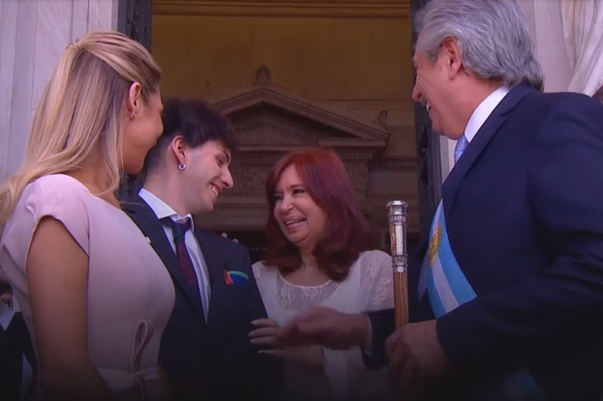 """Canje, todo canje"": el desopilante comentario de Estanislao Fernández que hizo reír a Cristina Kirchner"