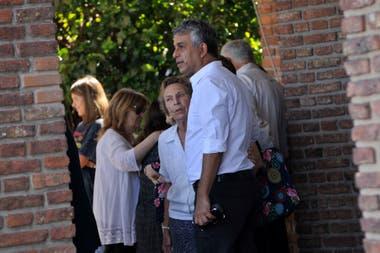 Mario Massaccesi, muy amigo de la actriz, la acompañó en el difícil momento