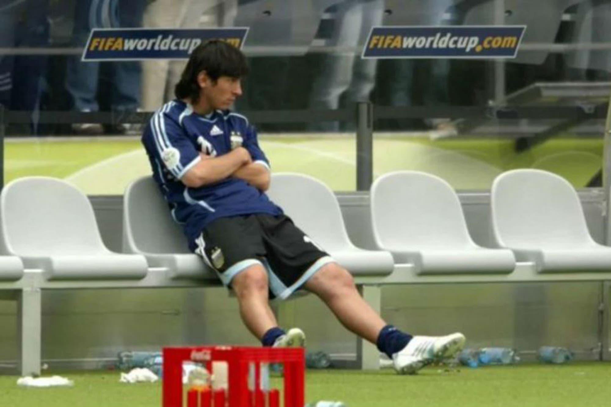 """La revelación del Mundial 2006: """"Pekerman es un caballero, Messi casi no podía correr contra Alemania"""""""