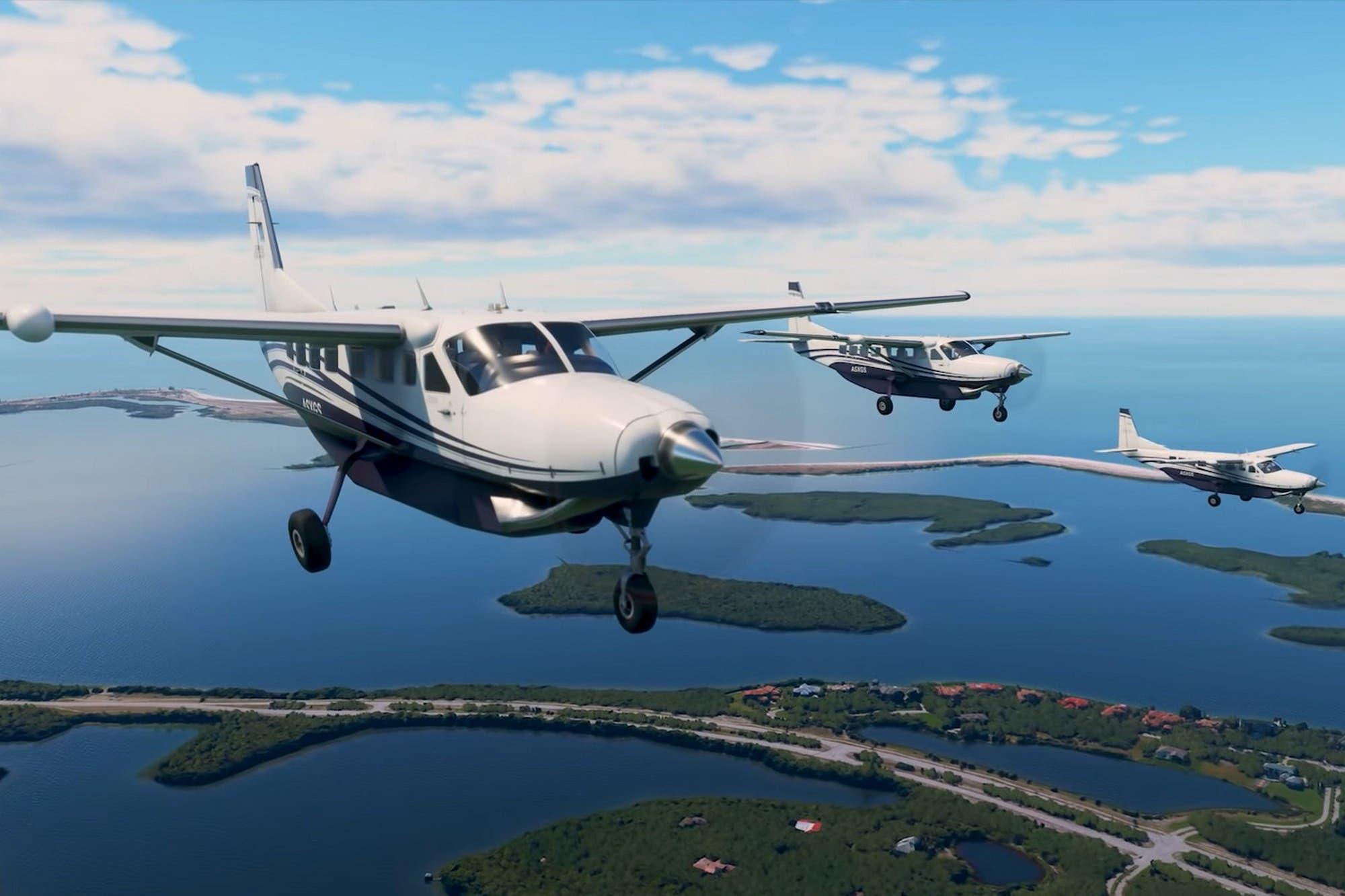 Microsoft Flight Simulator: así es el modo multijugador para volar con el tráfico real de aviones