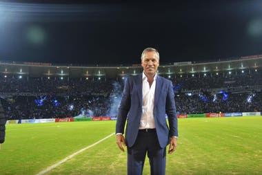 Andrés Fassi, el presidente de Talleres, de Córdoba, se enfrenta cada vez más explícitamente con sus colegas de la Liga Profesional.