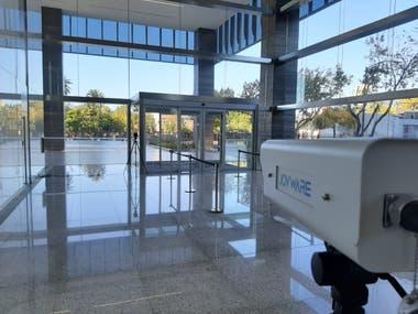 Raghsa en sus edificios sumará cámaras que tomarán la temperatura corporal a distancia