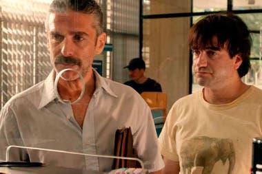Leonardo Sbaraglia y Daniel Hendler, en El otro hermano