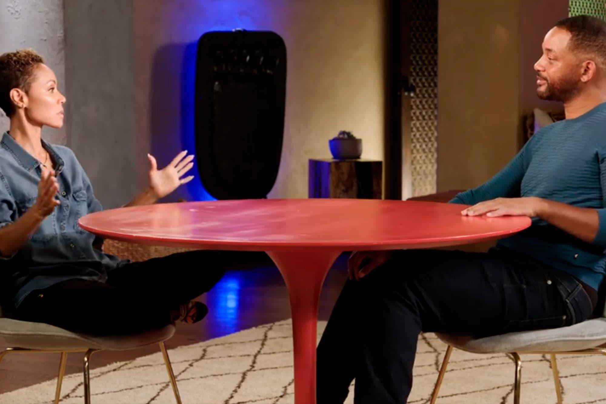 Cara a cara: Will Smith y Jada Pinkett hablaron sobre la aventura de la actriz con un rapero amigo de su hijo