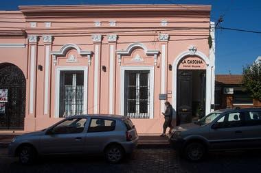 El frente de la casa, en la calle Lavalle de Chascomús