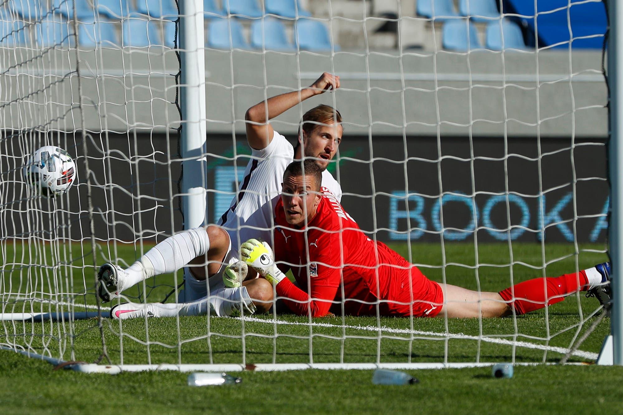 Liga de Naciones: el insólito triunfo de Inglaterra sobre Islandia con un jugador menos