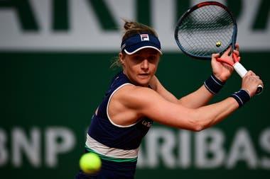 Podoroska ya es la quinta semifinalista argentina en París