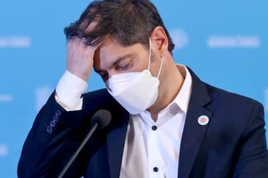 Cae la imagen positiva de Axel Kicillof, gobernador de la Provincia de Buenos Aires