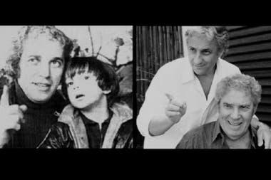 Chico Novarro y Pablo Novak, padre e hijo a través del tiempo