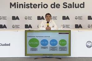 Coronavirus en Argentina: casos en Ángel Vicente Peñaloza, La Rioja al 28 de octubre