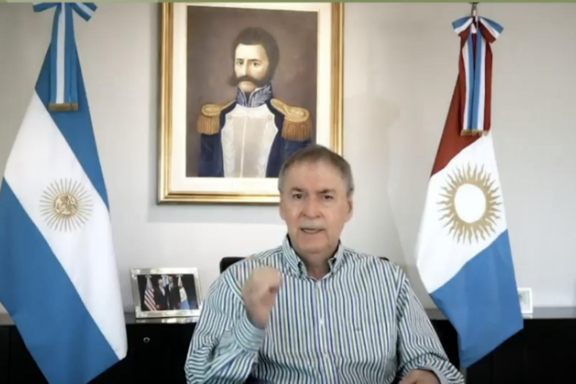 Juan Schiaretti adelantó que Córdoba no aplicará el toque de queda sanitario