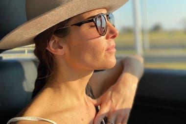 """""""Soy una mujer de muchos bártulos y tengo un alma nómade"""", dijo la actriz para explicar porqué elegía una camioneta para circular por calles y rutas"""