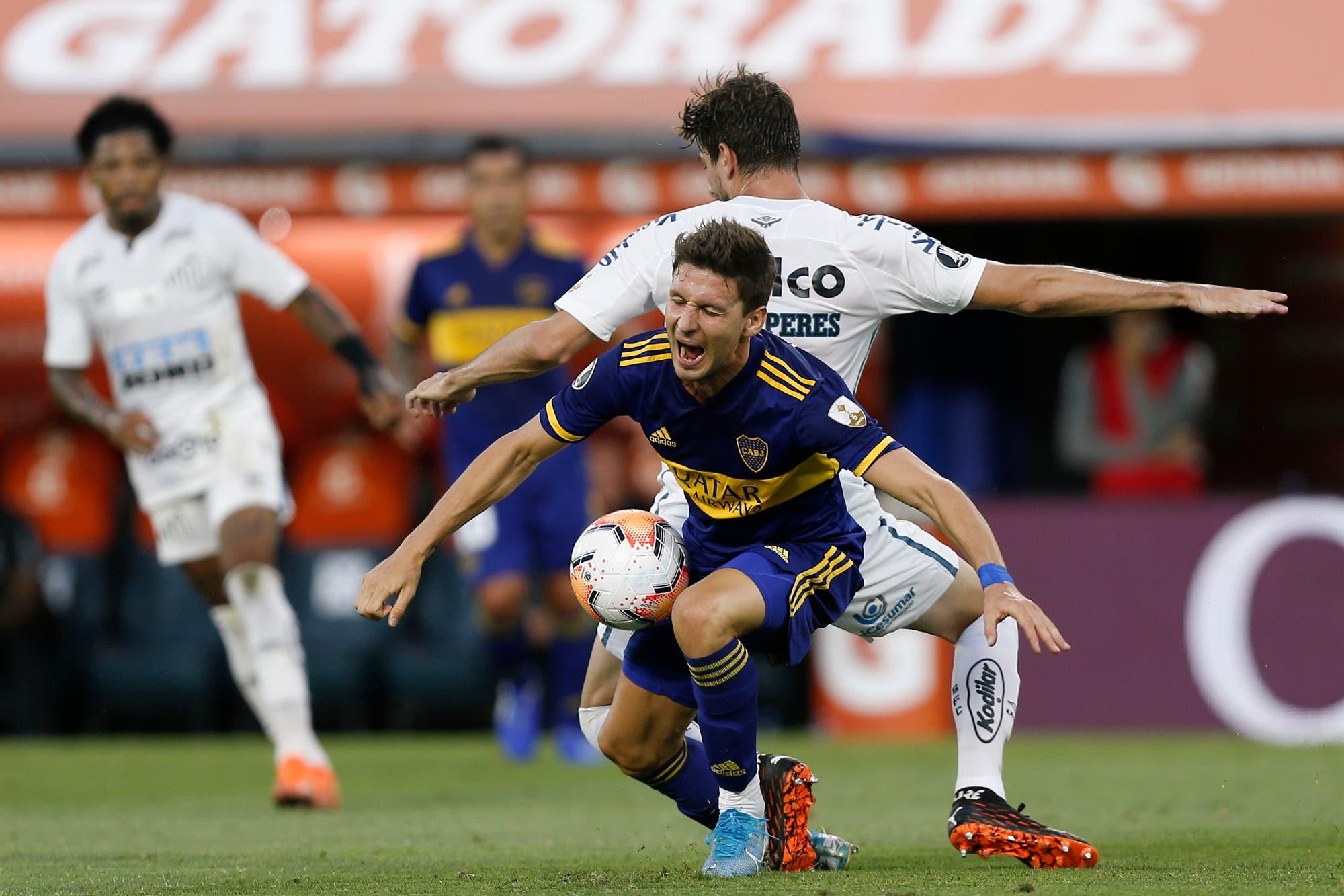 Boca y Santos jugaron a no perder y les salió bien a los dos, aunque dejaron una duda: ¿fue fútbol o ajedrez?