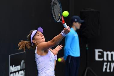 Nadia Podoroska pasó otra ronda en el Melbourne Park