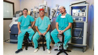 cirugía robótica de próstata en centros italianos