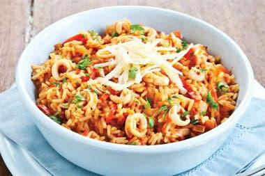 ¿Qué se puede comer en Semana Santa? ¡Arroz con calamares!
