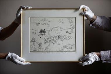 Se vendió en una subasta por 571.000 dólares, un precio récord por una ilustración de un libro