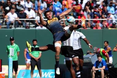Los Pumas 7s perdieron contra Fiji en el Mundial de Seven
