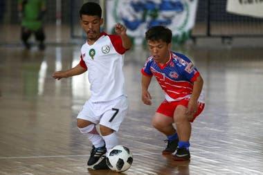 La selección Marroqui de talla baja de la Argentina contra EE.UU