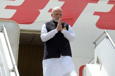 El ministro Germán Garavano recibió a Narendra Modi, primer ministro de India