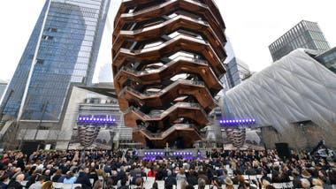 El costo total del Hudson Yard se estima que es de US$25.000 millones.