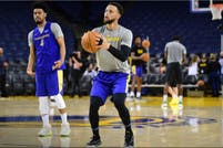 Video: los 21 triples seguidos de Stephen Curry en un entrenamiento