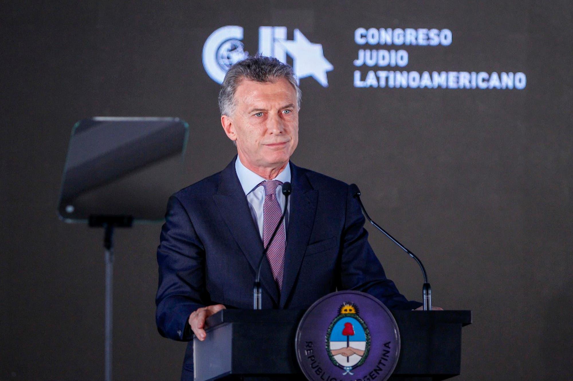 """Macri hizo un acto por la AMIA en la Casa Rosada: """"Que los imputados sean juzgados en la Argentina"""""""