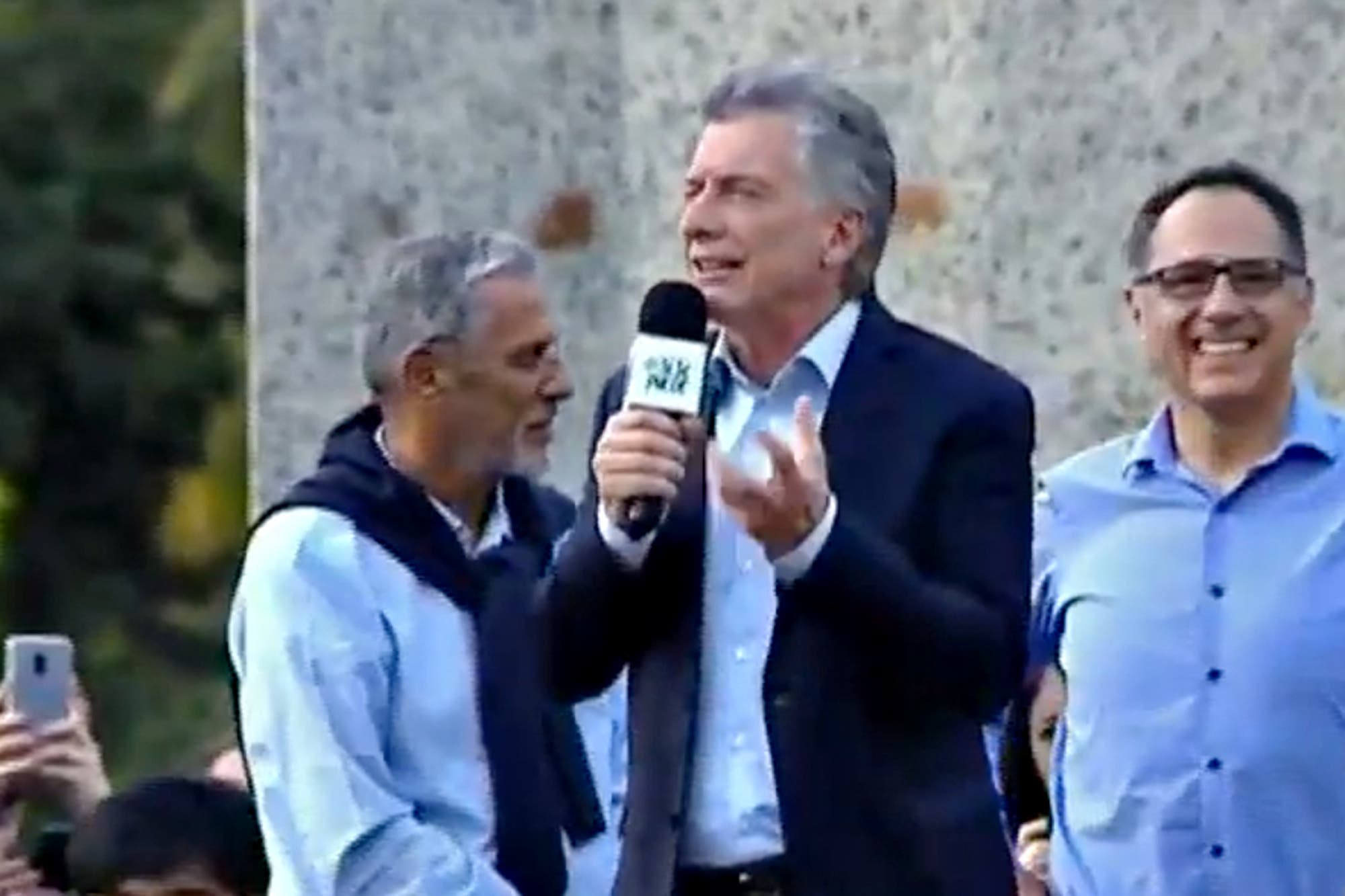 """En Neuquén, Mauricio Macri encabezó una nueva marcha Sí se puede: """"No tengan miedo, estoy para defenderlos"""""""