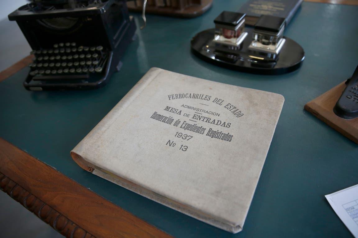 Libro de Mesa de entradas de la Administración