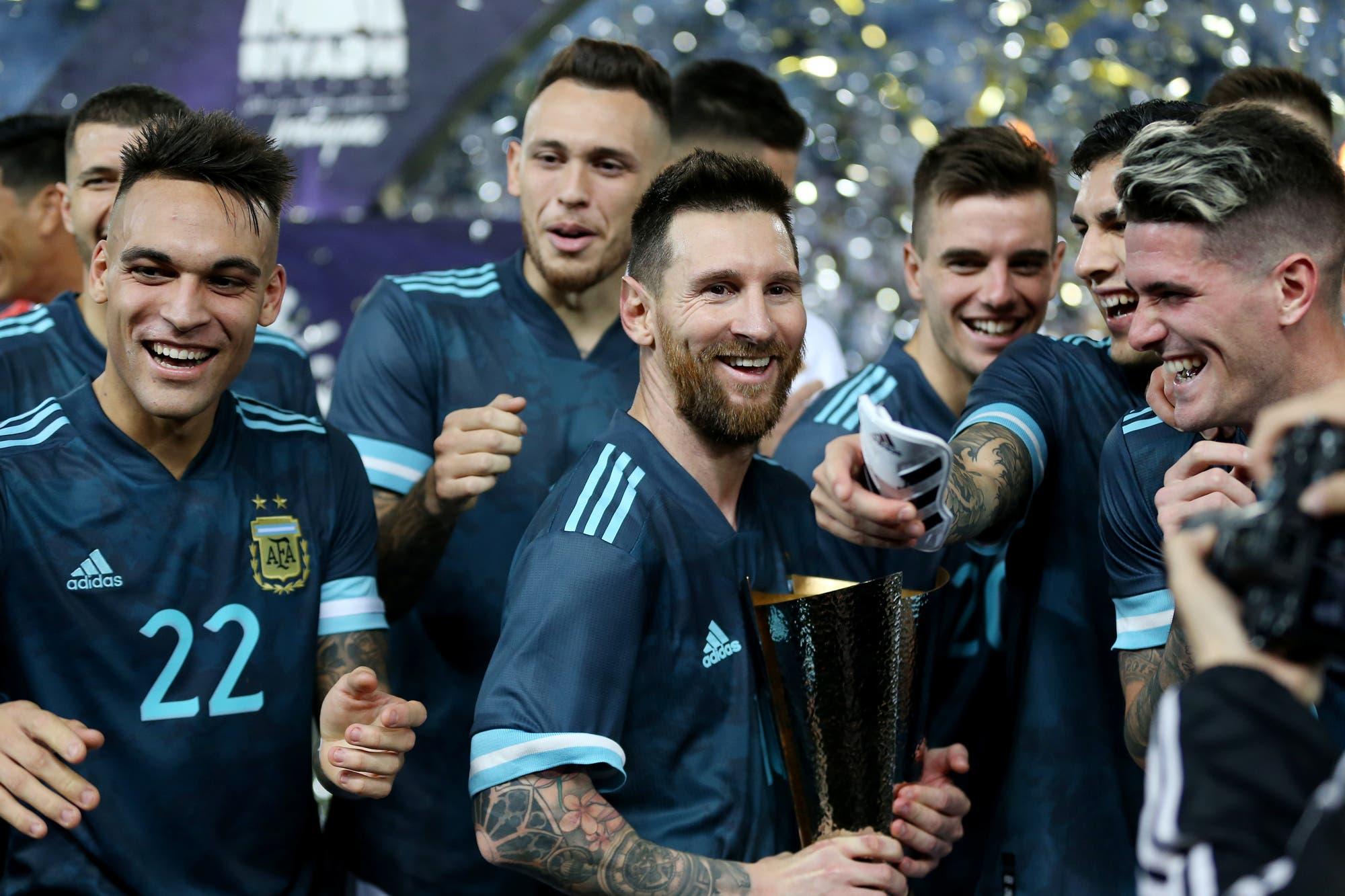 Argentina-Brasil: con un gol de Messi, la selección se quedó con el clásico en Arabia Saudita