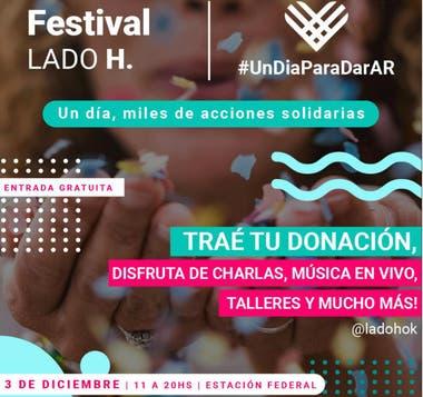 El evento apunta a que la gente ayude con lo que pueda y disfrute de talleres, charlas y música en vivo
